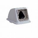エコ分別カラーペール90 (蓋) 三角穴 ペットボトル 灰
