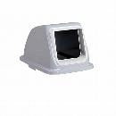 エコ分別カラーペール90 (蓋) オープン プラスチック白