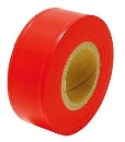 シンワ マーキングテープ 30mm×50m 蛍光オレンジ