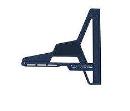 シンワ 丸ノコガイド定規 エルアングル フィット 15cm