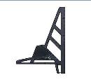 シンワ 丸ノコガイド定規 エルアングル フィット 30cm