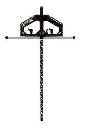 シンワ 丸ノコガイド定規Tスライド2 30cm