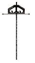 シンワ 丸ノコガイド定規Tスライド2 45cm