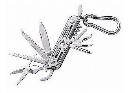 中林 12徳ツールカラビナ付 銀 L−65