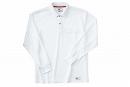225 長袖ポロシャツ 1ホワイト S