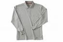 225 長袖ポロシャツ 2グレー S