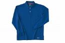 225 長袖ポロシャツ 5Rブルー 5L
