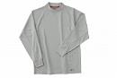 ホシ服装 226 長袖ローネック 2グレー 4L
