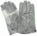 N450 銀袖 油皮手 L