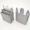 鳶壱 頑丈な腰袋 仕切付内ポケット NO.112−GR 灰