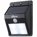 オーム電機 LEDセンサーウォールライト(ソーラー式)OHM LS-S1084C-K(07-8207)