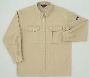 ホシ服装 P143 2 5L 長袖シャツ ライトB