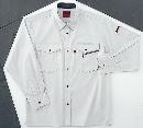ホシ服装 #463 1 5L 長袖シャツ ストーン