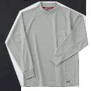 ホシ服装 226 長袖ローネック 2グレー L
