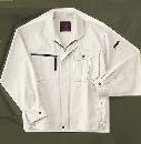 ホシ服装 655 ブルゾン 1 アイボリー L