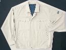ホシ服装 #P1351 L 年間ブルゾン アイボリー