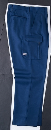 ホシ服装 650 スラックス 1 アイボリー W76