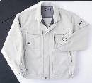 ホシ服装 #5220 ブルゾン 1.Sグレー L