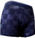 ベア天LチェッカーPTボクサー ブラック XL