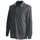 TS DESIGN 3075 長袖ポロシャツ チャコールG 3L