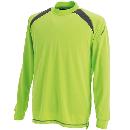 TS DESIGN 3085 スマートネックシャツ Lグリーン 3L