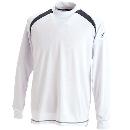 TS DESIGN 3085 スマートネックシャツ ホワイト L