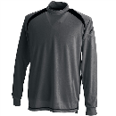TS DESIGN 3085 スマートネックシャツ チャコールG L