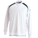 TS DESIGN 3085 スマートネックシャツ ホワイト M