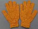 EG−70 黄ナイロン手袋 【L】 12双組