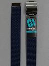 #31 【L】 紺 ナイロンローラー 32mm巾ベルト W110cm