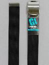 #32 【M】 黒 ナイロンローラー 40mm巾ベルト W95cm