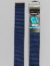 #32 【M】 紺 ナイロンローラー 40mm巾ベルト W95cm