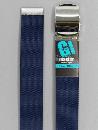 #33 【L】 紺 ナイロンローラー 40mm巾ベルト W110cm