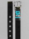 #35 【L】 黒 ナイロン 1P32mm巾ベルト W110cm