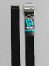 #41 【M】 黒 綿GIローラー 32mm巾ベルト W95cm