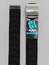 #44 【L】 黒 綿ローラー 40mm巾ベルト W110cm
