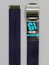#44 【L】 紺 綿ローラー 40mm巾ベルト W110cm