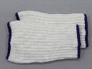 #1951−3P ニットバンド 白 3双組 手甲 オーバー紺