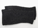 #1962−2P 黒 十番勝負手甲 超ロング純綿カラー