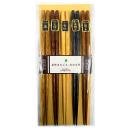客用箸 彫刻木箸 5膳組