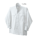 鳳皇 3700 立衿シャツ 17ホワイト L
