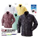 0023 鳳皇ワイヤーシャツ 17ホワイト 3L
