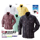 0023 鳳皇ワイヤーシャツ 19イエロー LL