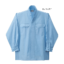 鳳皇 3700 立衿シャツ 25サックス M