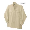 鳳皇 3700 立衿シャツ 2ベージュ 3L