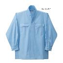 鳳皇 3700 立衿シャツ 25サックス L