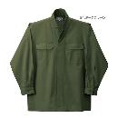 鳳皇 3700 立衿シャツ 54ダークグリーン LL