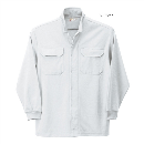254 鳳皇裏綿立衿シャツ 17ホワイト LL
