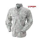 3700 鳳皇立衿シャツ 48カモフラグリーン LL