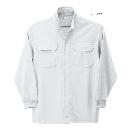 254 鳳皇裏綿立衿シャツ 17ホワイト 3L